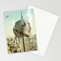 impaled on the empire Stationery Cards