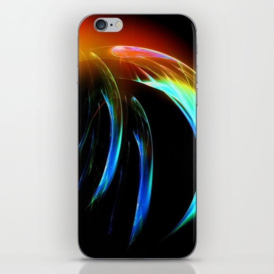Fractal Medusa iPhone & iPod Skin