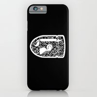 iPhone & iPod Case featuring Bullet Bill #CrackedOutBadGuys by Halucinated Design