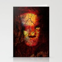 zombie Stationery Cards featuring Zombie by Ganech joe