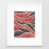 Sahara Desert In Pastel … Framed Art Print