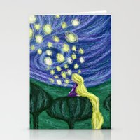 Impressionist Lanterns Stationery Cards