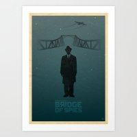 Steven Spielberg's BRIDG… Art Print