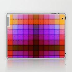 Tagged Autumn Plaid no21 Laptop & iPad Skin