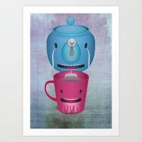 Tea Potty Art Print