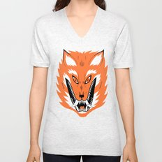 Cursed Fox Unisex V-Neck