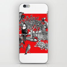 Collage Rouge 5 iPhone & iPod Skin