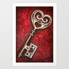 Key to Wonderland Art Print