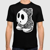 ShyGuy #CrackedOutBadGuy… Mens Fitted Tee Black SMALL