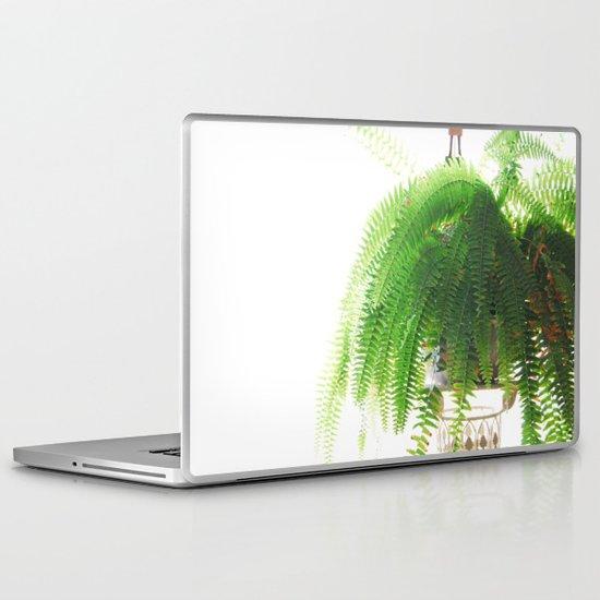 Fern-Green Laptop & iPad Skin