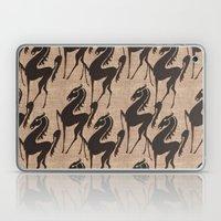 Burlap horses Laptop & iPad Skin