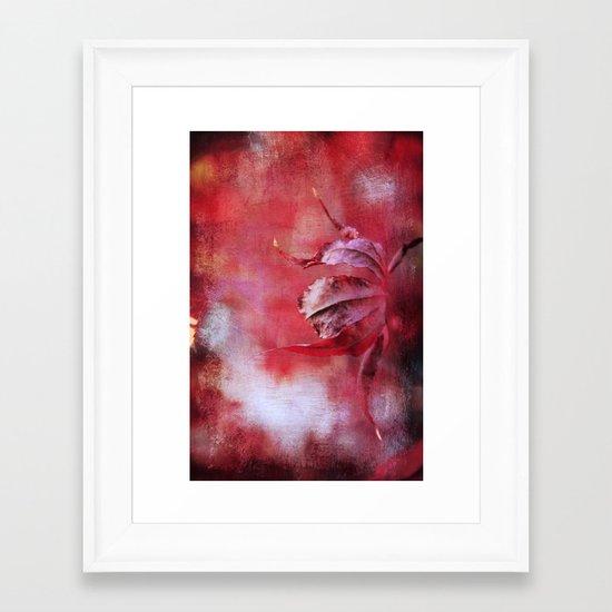 Wisdom's Curl Framed Art Print