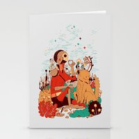 Overgrowth Explorer Stationery Cards