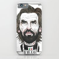 iPhone & iPod Case featuring ANDREA PIRLO by BANDY