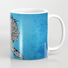 Typography Marla Singer Mug