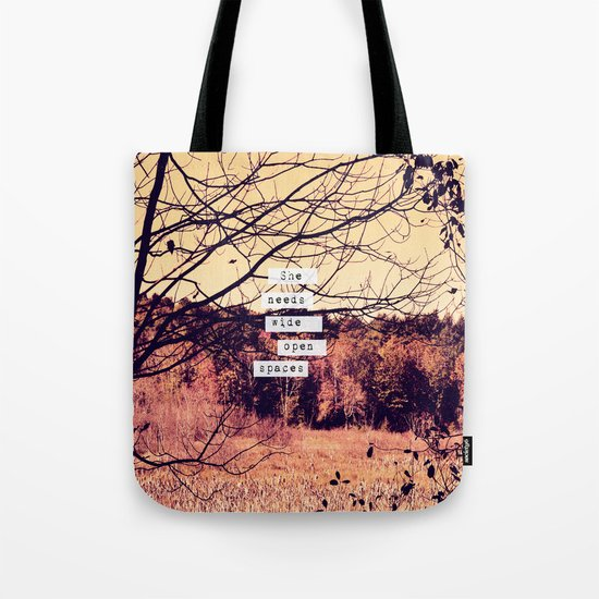 Wide Open Spaces II Tote Bag