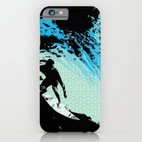iPhone & iPod Case featuring Surfing by CSNSArt