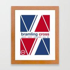 bramling cross single hop Framed Art Print