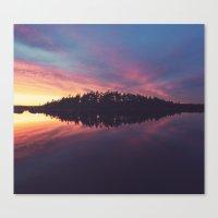 Symmetrical Reflection Canvas Print