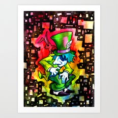 The Mad Hatter and the March Hare Art Print