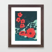 Ruby Framed Art Print