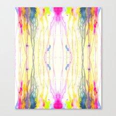 Melt Colors Series: Rain Canvas Print