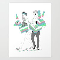 Piñata Party! Art Print