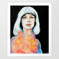 Il Pianto Dell'universo Art Print