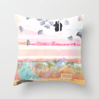 Only Foundations Remain Throw Pillow