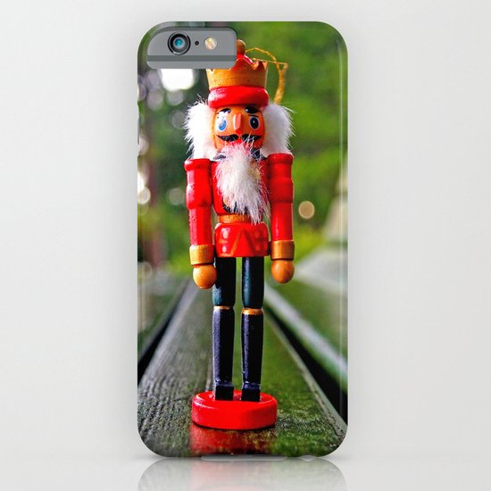 Park-bench Yuletide iPhone & iPod Case