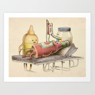 Emergency Transfusion  Art Print