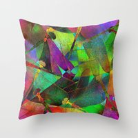 Dragonflies 2 - Color Va… Throw Pillow