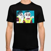 GOSIP Mens Fitted Tee Black SMALL