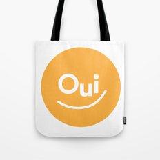 Oui Tote Bag