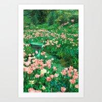 Choose Your Colors Art Print