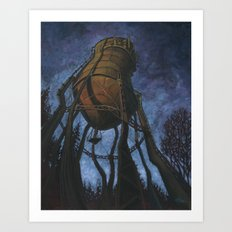Prescott Water Tower Art Print