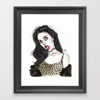 Charli Framed Art Print