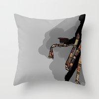 Doctor 4 Throw Pillow
