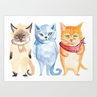 Jack, Jessup And Jill Art Print