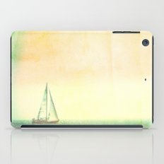 Smell the Sea and Feel the Sky iPad Case
