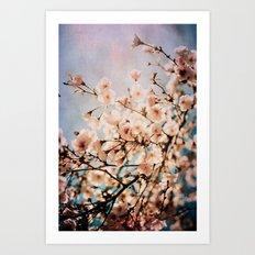 Spring Romance Art Print