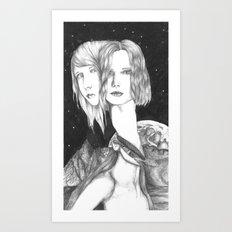 space ladies Art Print