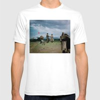 It's A Fine Day Mens Fitted Tee White SMALL
