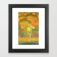 Birch 2 Framed Art Print