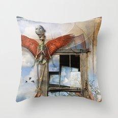 Post Mortem Throw Pillow