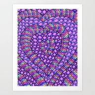 Heartswell 2.1 Art Print