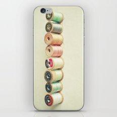 Pastel Thread iPhone & iPod Skin