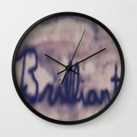 Brilliant  Wall Clock