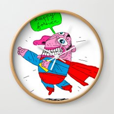love will save the world Wall Clock