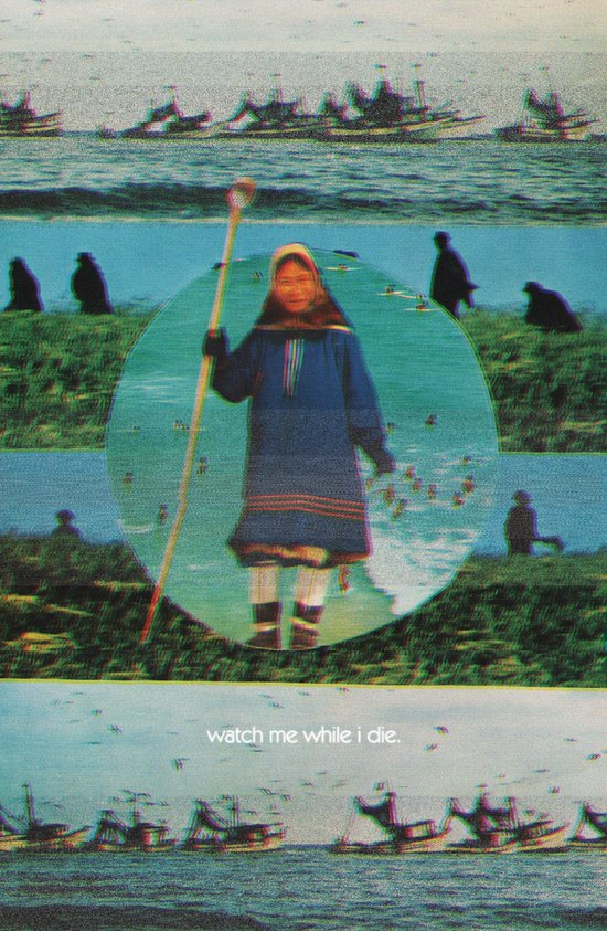 Watch Me While I Die Art Print